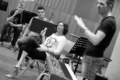 Nina Badric & Peter Urek - piano/keys   Nina Badric ft. New Festival Orchestra @ Dvorac Otočac, 7.6.2014. #ninabadric #newfestivalorchestra #dvoracotocac