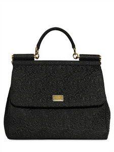 6533d227efd2 Dolce  amp  Gabbana - Brocaded Sicily Bag