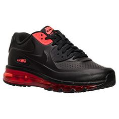 Men's Nike Air Max 2014 Leather Running Shoes | Finish Line