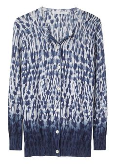 exercicedestyle:  Thakoon Addition Tie Dye Cardigan