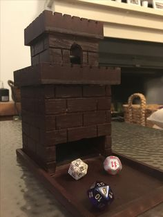 Dice tower from a birdhouse!