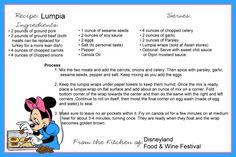 Disney Themed Food, Disney Inspired Food, Disney Food, Disney Drinks, Disney Desserts, Disney Recipes, Cookbook Ideas, Cookbook Recipes, Be Our Guest Disney