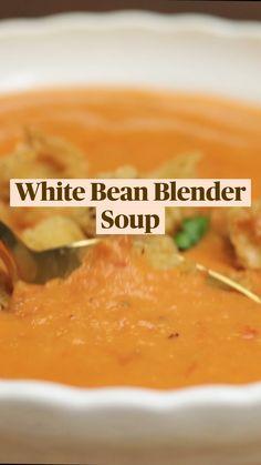 Puree Soup Recipes, Fall Soup Recipes, Pureed Food Recipes, Healthy Soup Recipes, Cooking Recipes, Pureed Soup, Bariatric Recipes, Homemade Soup, Dinner Dishes