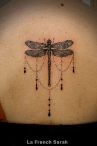 Tatouage libellule, Dragonfly Tattoo