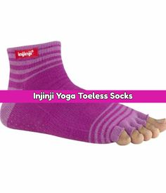 If you're doing yoga, a must-have accessory are yoga socks. Here are 10 best yoga socks for your workout that are perfect for travel, studio or home. Workout Essentials, Workout Gear, Fitness Gear, Health Fitness, Toeless Socks, Yoga Socks, Yoga Accessories, Best Yoga, How To Do Yoga