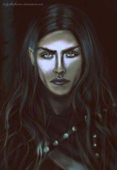 Карантир  Caranthir the Dark - face detail by Ladyoftheflower on DeviantArt