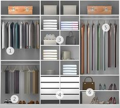 Guarda-roupa planejado: 54 ótimas ideias e dicas de projeto!