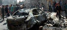 Atentado com carros-bomba deixa nove mortos e vários feridos na Síria; saiba mais