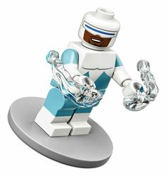 Frozone Disney The Incredibles Lego 71024 Series 2 Minifigure mini figure Lego Minifigure, Disney Minifigures, Lego Ninjago, Lego Disney, Disney Pixar, Walt Disney, Jack Skellington, Minifigura Lego, Serie Disney