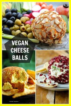 Vegan Cheese Ball Recipes Nut Free Options Vegan Richa - Vegan Cheese Ball Recipes For The Holidays Parties Super Bowl And What Not Serve With Veggies Chips Pretzels Things Nut Free Soy Free Options Best Cheese Ball Recipes Vegan Cheese Ball Recipe, Vegan Cheese Recipes, Cheese Ball Recipes, Vegan Foods, Vegan Snacks, Vegan Dishes, Lait Vegan, Dairy Free Cheese, Vegan Appetizers