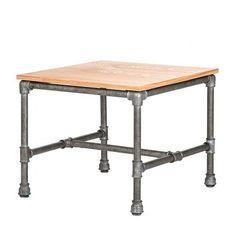 Table d'appoint Françoise - Cadre en acier