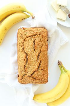 Gluten-Free Banana Bread | 1 Bowl, simple ingredients SO moist, and delicious! #minimalistbaker
