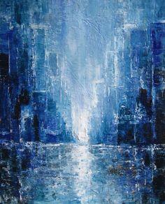 Cityscape painting - Sierra Briggs