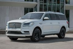 We named the Lincoln Navigator the best new vehicle of 2018 when it went on sale last year. Now, the 2020 model year version is scoring a fresh look. Lincoln Suv, New Lincoln, My Dream Car, Dream Cars, Eight Passengers, Electric Truck, Large Suv, Lincoln Navigator, Luxury Suv