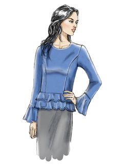 Easy Sewing Patterns, Simplicity Sewing Patterns, Scottish Dress, Top Pattern, Boho Dress, Extra Fabric, Pullover, Summer Dresses, Women's Tops