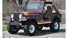 1980 Jeep CJ5 Wrangler Renegade