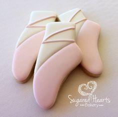 Ballerina Ballet Pointe Shoe Cookies
