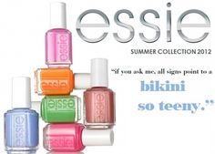 Essie 2012 Summer Collection