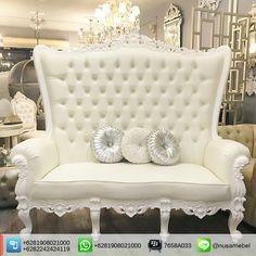 White Duco #WeddingChair with Cream Fabric Dominique. Sofa Pelaminan Jepara Mewah Putih Duco. We send it worldwide. Please contact us via: BBM : 7658A033 Call WA : 6281908021000 Inquiry : info@nusamebel.com Website : nusateak [en] / nusamebel.com [id] #NusaMebel #Mebel #Meuble #MebelJepara #FurnitureJepara #MebelRumah #HomeFurniture #FrenchFurniture #LouisChair #FrenchChair #SofaTamu #SofaJepara #SofaJati #WeddingFurniture #ProdusenMebel #SofaNikah #WeddingSofa #FurnitureMaker…