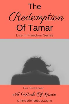 This is a retelling of one of my favourite Bible stories...one that has been close to my heart for a very long time. I know Tamar...I know her well. The Redemption of Tamar