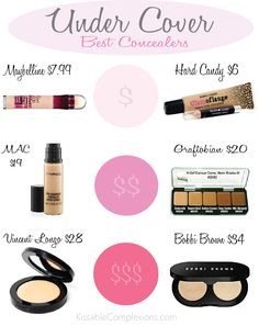 The best concealers and how to use them!