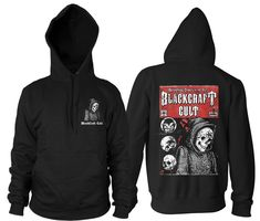 The Haunting - Hooded Pullover Sweater – Blackcraft Cult Mens Sweatshirts, Mens Tees, Message Man, Metal Shirts, Sleeveless Hoodie, Dark Fashion, Shirt Style, Pullover Sweaters, Hoods