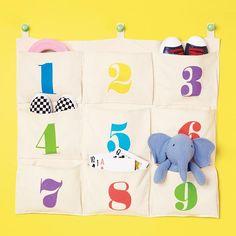 Teach Me Numbers Hanging Organizer | Avon Living - Kids - Regular price $16.99  https://www.avon.com/product/56205/teach-me-numbers-hanging-organizer?repid=16339345