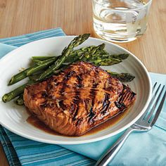 Grilled Asian Salmon Recipe | MyRecipes.com...I think I'm making this for dinner tonight!