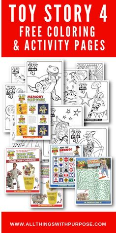 Toy Story 4 Party Theme and Free Printable Party Pack - Toys for years old happy toys Toy Story Theme, Toy Story Movie, Toy Story Birthday, Toy Story Party, Birthday Party Themes, Free Birthday, 4th Birthday, Birthday Presents, Birthday Ideas