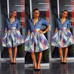 Meida Skirt by THEAFRICANSHOP on Etsy, £35.00