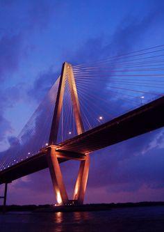 Home in Charleston, SC- Arthur Ravenel Jr. Bridge #SouthCarolina #SC
