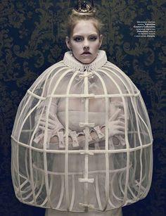 Vogue Russia Fashion Photoshoot December 2010