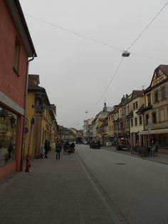 Town Centre of Erlangen, Germany  #erlangen #bavaria #germany