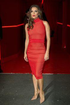 Eva Longoria | Basically Every Model in Paris Convened For This 1 Party | POPSUGAR Fashion