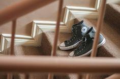 Groom's wedding shoes.. #converse