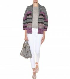 Missoni - Printed cotton and silk-blend cardigan