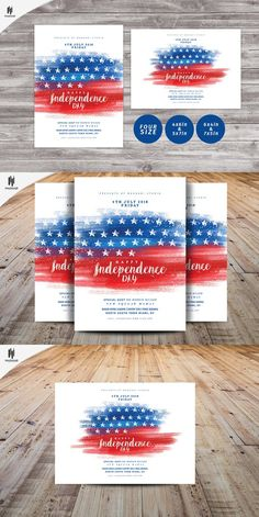 Usa Independence Day Flyer Template Free Psd  Flyer Template