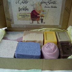 All Natural Handcrafted Soap: Handmade Soap Great Holiday Gift .