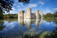 Bodiam Castle, England - 8 Most Beautiful European Castles