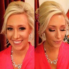 Caseys makeup #airbrush #airbrushmakeup #bridalmakeup #makeup #mauvelips #mauveeyes #motives @motivescosmetics #loreal #glamour #lashes #mua #contour