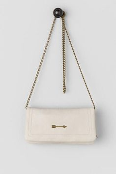 Arrow Wallet Crossbody -- so cool in its minimalism