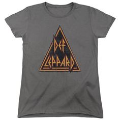 Def Leppard - Distressed Logo Women's T-Shirt