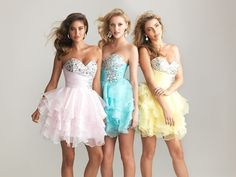 Short/Mini Cocktail Dresses Party Homecoming Formal Bridesmaid Prom Dresses4-12 #PartyPromBallEveningFormalBridesmaid