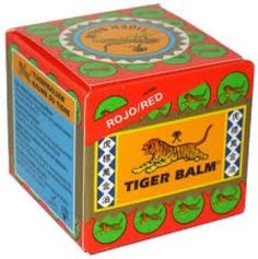 TigerBalsem Red 19gr / The Oriental Shop