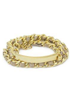 Ettika Multi Wrap Chain Bracelet - Gold