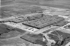 Ford Motor Plant in Talbotville aerial, 1967. (London Free Press files)