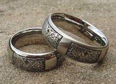 Resultado de imagen para nordic wedding rings