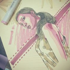 #illustration #art #sketch #drawing #girls