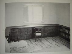 La maison du jeudi - Villa Malaparte - Curzio Malaparte & Adalberto Libera - bureau