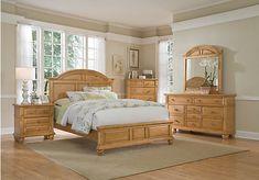 picture of berkshire lake pine 5 pc queen panel bedroom from queen bedroom sets furniture